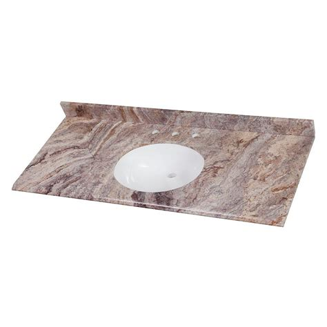 Home Decorators Collection 49 in W Stone Effects Vanity