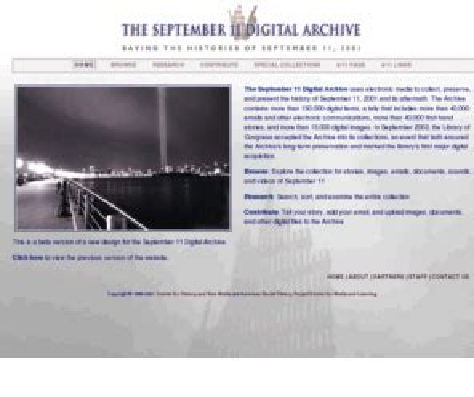 Home September 11 Digital Archive