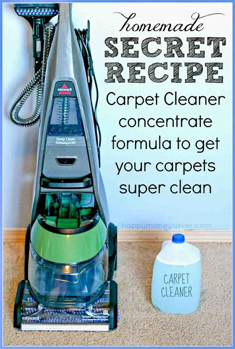 Homemade Carpet Cleaning Solutions The Dollar Stretcher