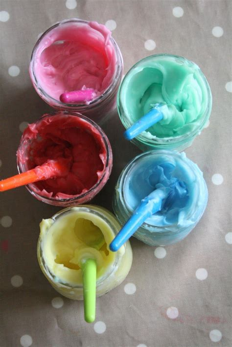 Homemade Edible Finger Paint Recipe The Imagination Tree