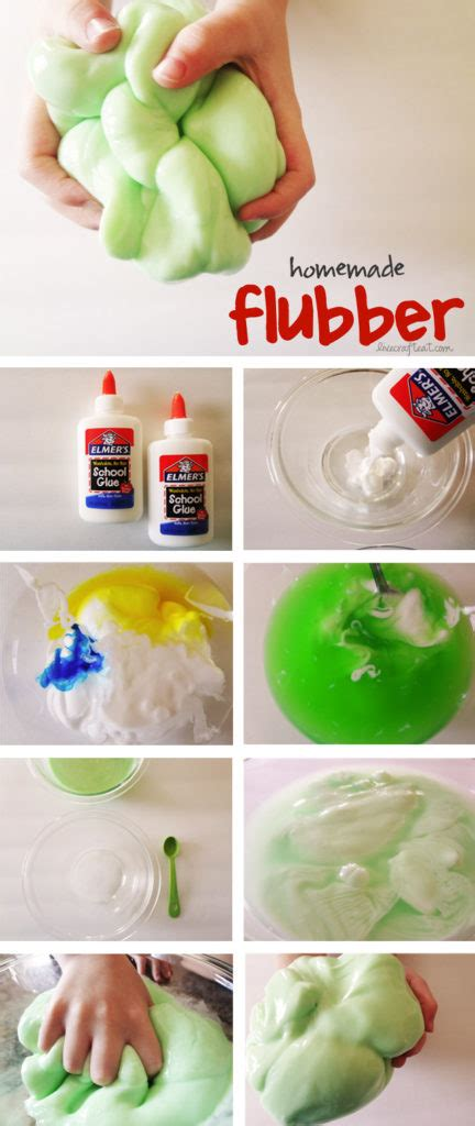Homemade Flubber Recipe For Kids Live Craft Eat