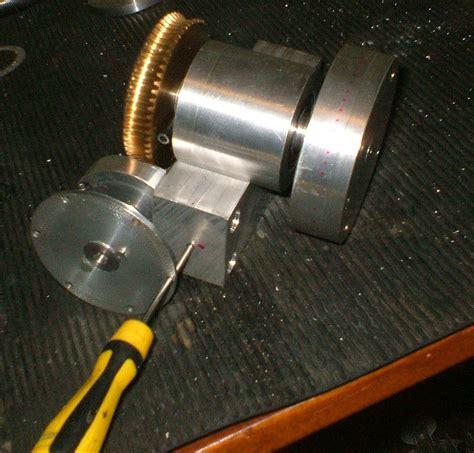 Homemade rotary table dividing head mini lathe