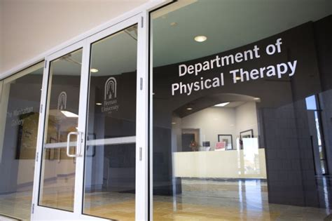 Homepage Department of Physical Therapy