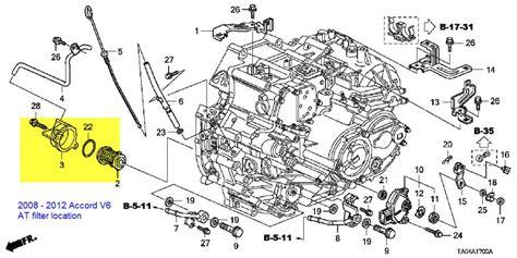 Honda Accord Transmission Diagram