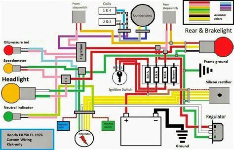 cb750 bobber wiring diagram images honda cb750 chopper wiring diagram honda schematic