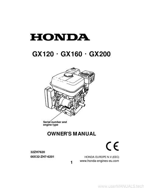 Honda Engines GX200 Owner s Manual