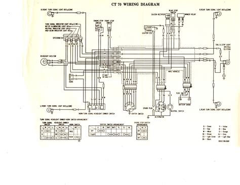 honda cb 110 wiring diagram images honda trail 110 wiring diagram trwam