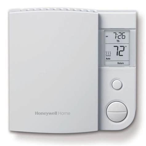 Honeywell 2 Day Programmable TRIAC Line Volt Thermostat Fans