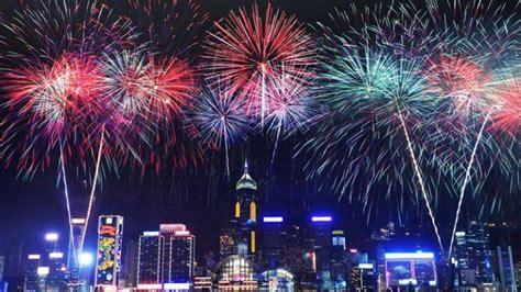 Hong Kong New Year Countdown Celebrations 2018
