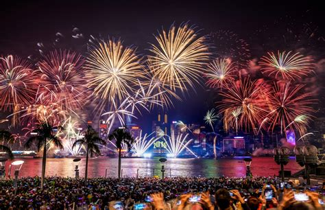 Hong Kong New Years Eve 2018 Fireworks Events Parties
