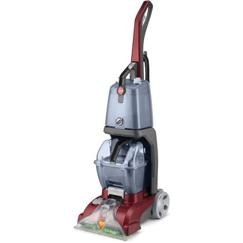 Hoover Power Scrub Deluxe Carpet Upright Deep Cleaner Red