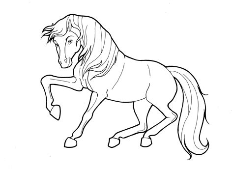 Horse Coloring Pages and Printables Horse Crazy girls