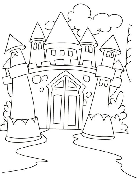 House Coloring Sheets Coloring Pages from Coloring Castle