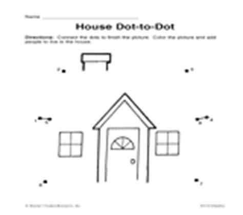 House Dot to Dot TeacherVision