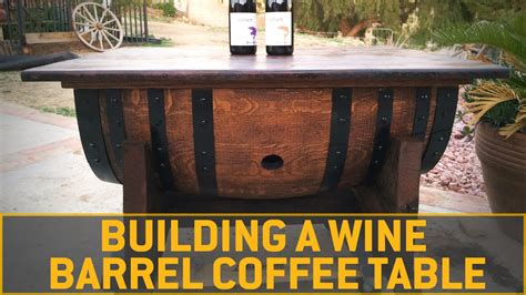 wine barrel coffee table diy images. diy coffee tables ideas and