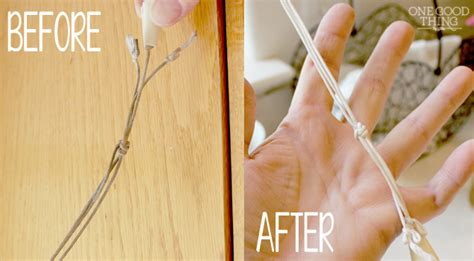 How To Clean The Pull Cord On Your Window Blinds One