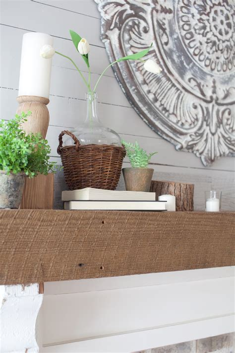 How To Decorate Your Mantel For Spring The Lettered Cottage