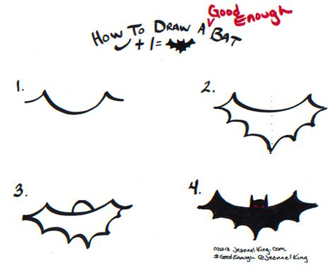 How To Draw A Bat Wedrawanimals