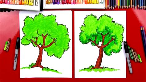 How To Draw A Bush