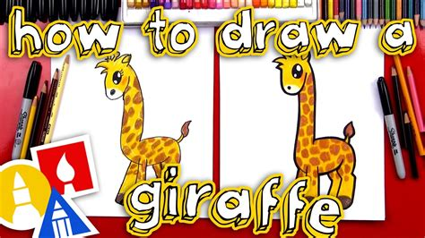 How To Draw A Giraffe YouTube