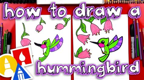 How To Draw A Hummingbird Art For Kids Hub