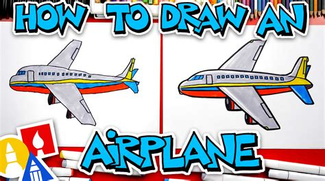 How To Draw A Jet Art For Kids Hub