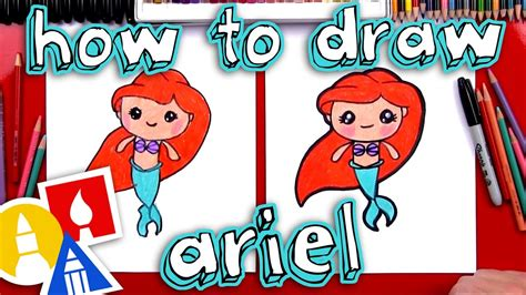 How To Draw A Mermaid Art For Kids Hub