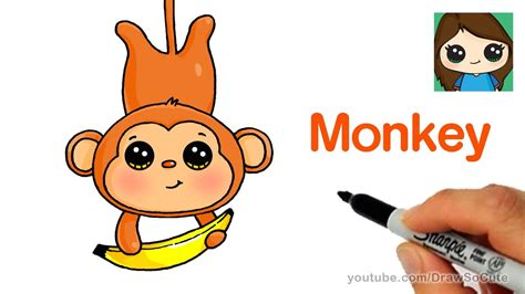 How To Draw A Monkey Quickly And Easily