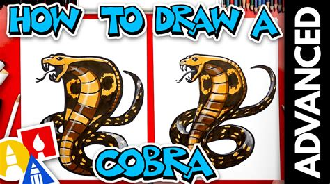 How To Draw A Snake Art For Kids Hub