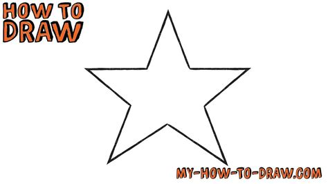 How To Draw A Star Easy Drawings And Sketches