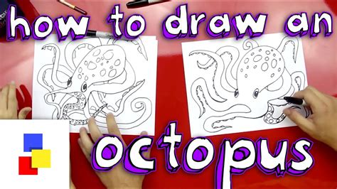 How To Draw An Octopus Art For Kids Hub