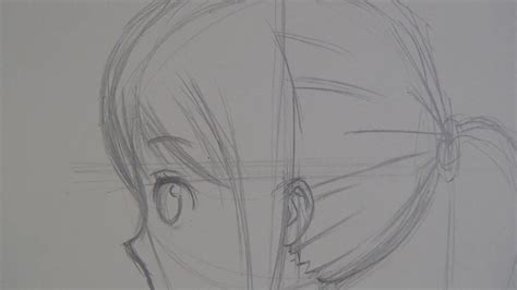 How To Draw Anime Girl Side View Slow Narrated Tutorial