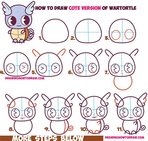 How To Draw Chibi A step by step guide in learning to