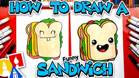 How To Draw Funny Food Art For Kids Hub