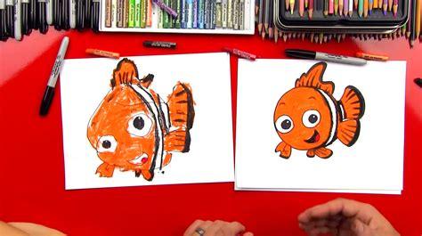 How To Draw Nemo Art For Kids Hub