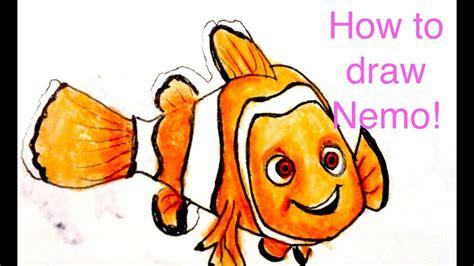 How To Draw Nemo Draw Central