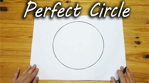 How To Draw Perfect Circle YouTube