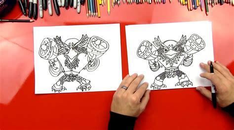 How To Draw Skylanders Jet Vac Full Blast