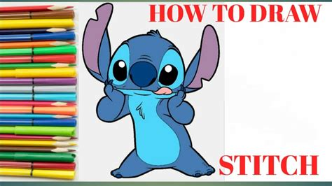 How To Draw Stitch Walt Disney World YouTube
