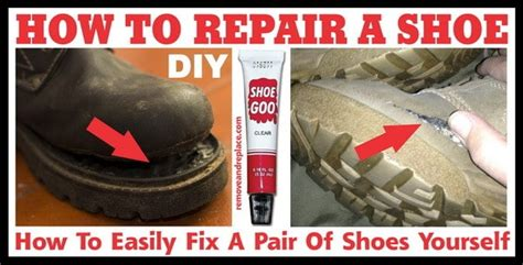How To Fix Shoes Yourself DIY Shoe Repair