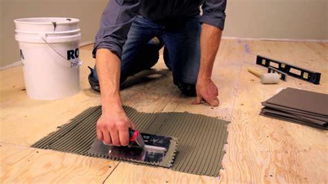 How To Install Ceramic Tile Part 1 Subfloor Prep Cement