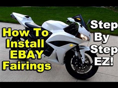 How To Install EBay Fairings Honda CBR600rr Chinese