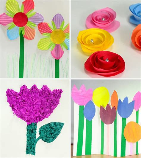 How To Make Paper Flowers For Kids MomJunction