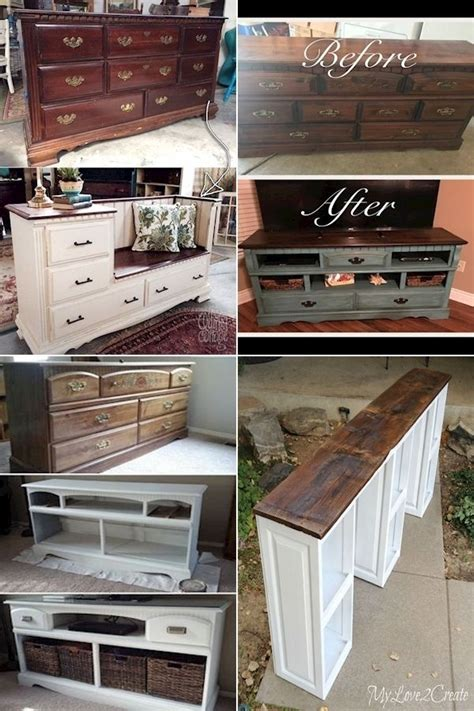How To Repurpose Old Furniture Reuse Furniture