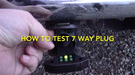 wire 7 way trailer plug vehicle images hot hair list the most how to test 7 way trailer rv electrical plug