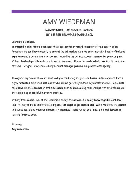 How To Write The Perfect Architecture Cover Letter The