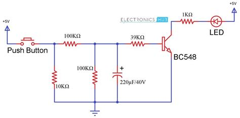How UP DOWN Fading LED Lights Circuit Works