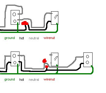multiple receptacle wiring diagram images how do i add a receptacle from a switch located on the end