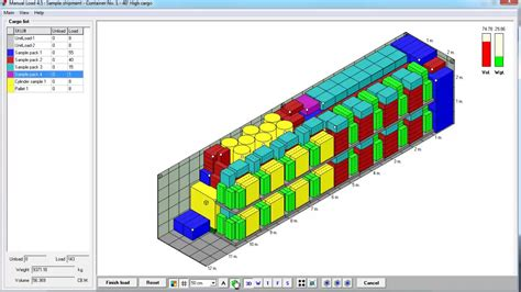 How to Buy Cargo Loading Software Container Truck