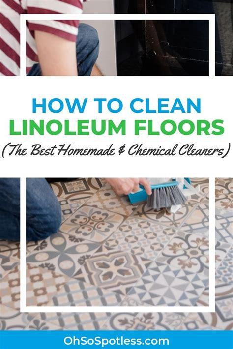 How to Clean Linoleum Floors Floors